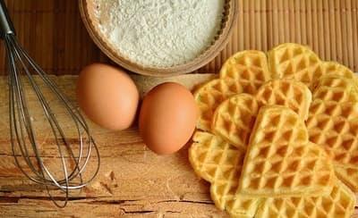 gofry jajeczne