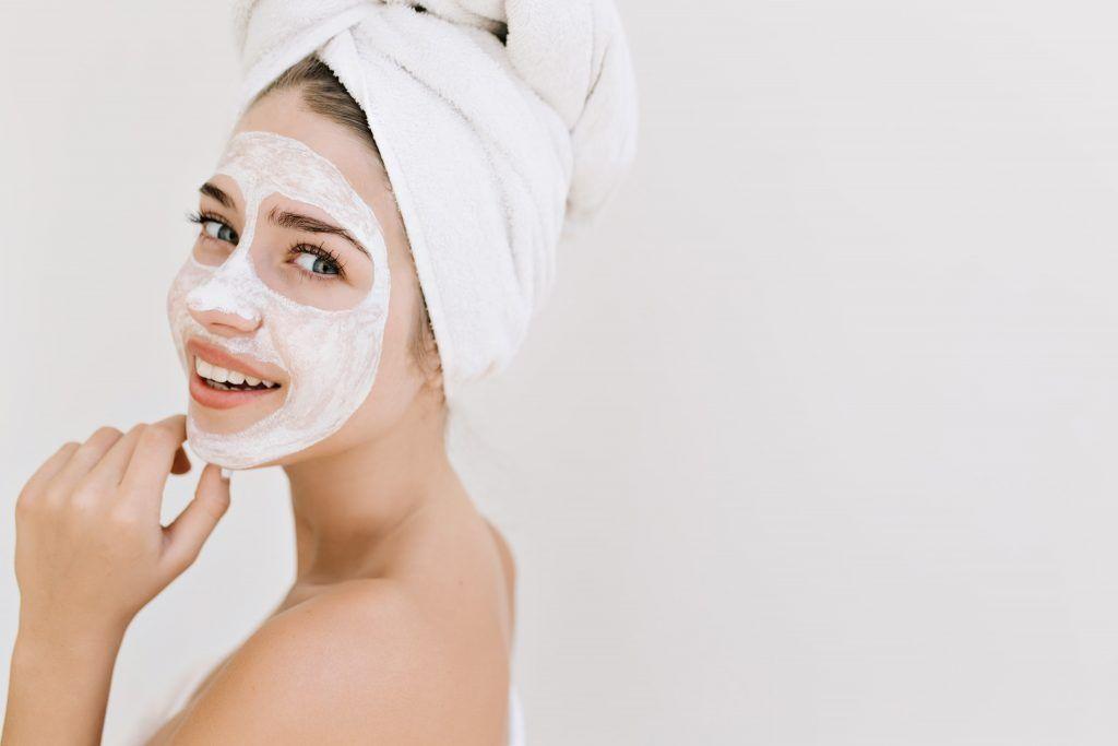 Glinka kosmetyczna stosowana w pielęgnacji